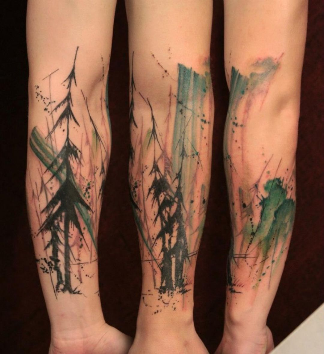 Image result for forearm abstract tattoo