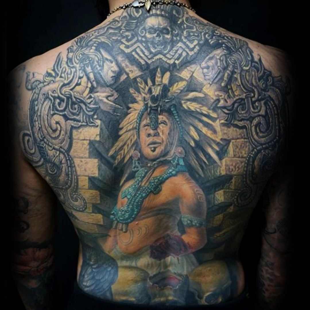 100 Aztec Back Tattoo Design For Women Female 1080x1080 2020