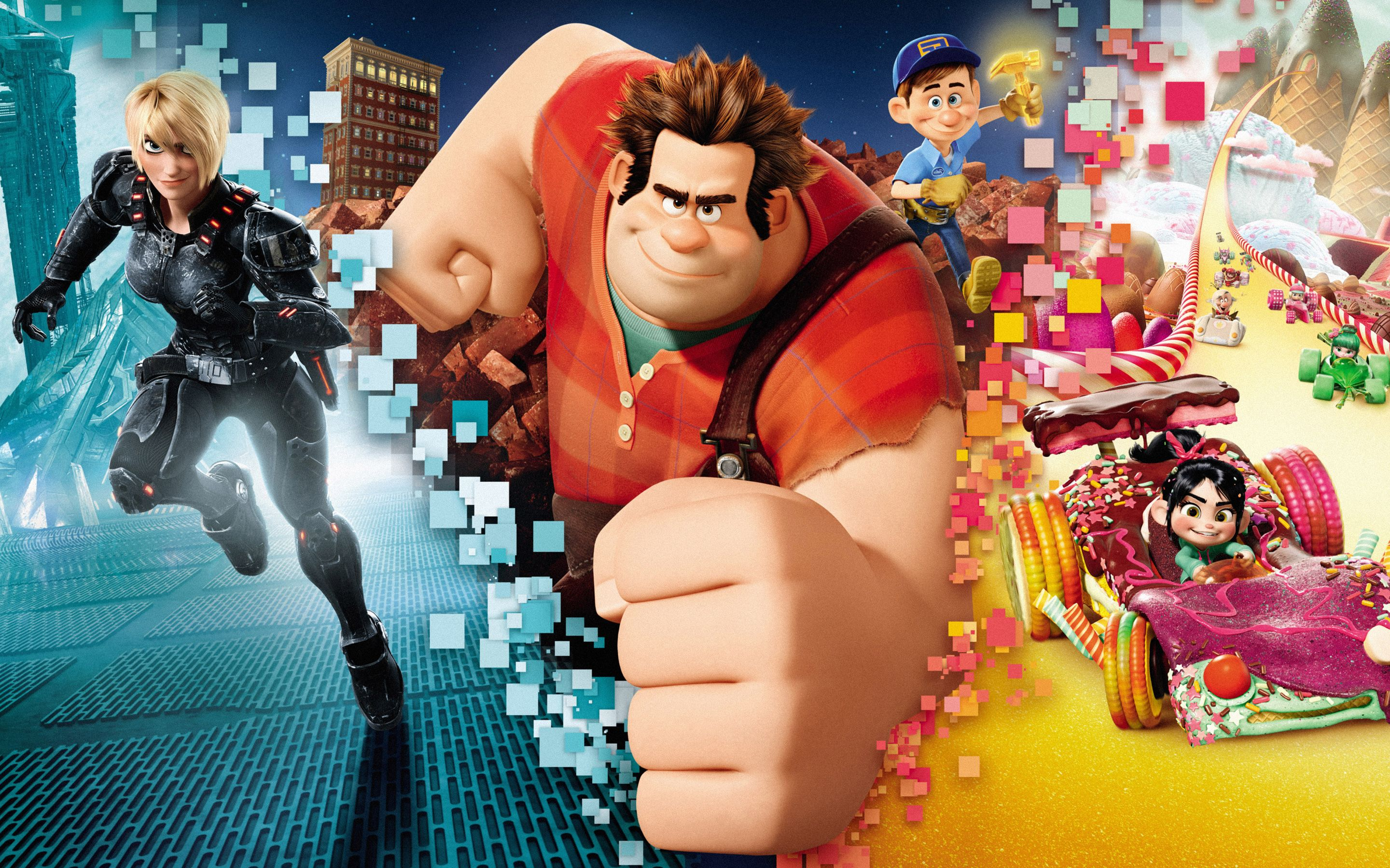 40 Wreck It Ralph Android Iphone Desktop Hd Backgrounds