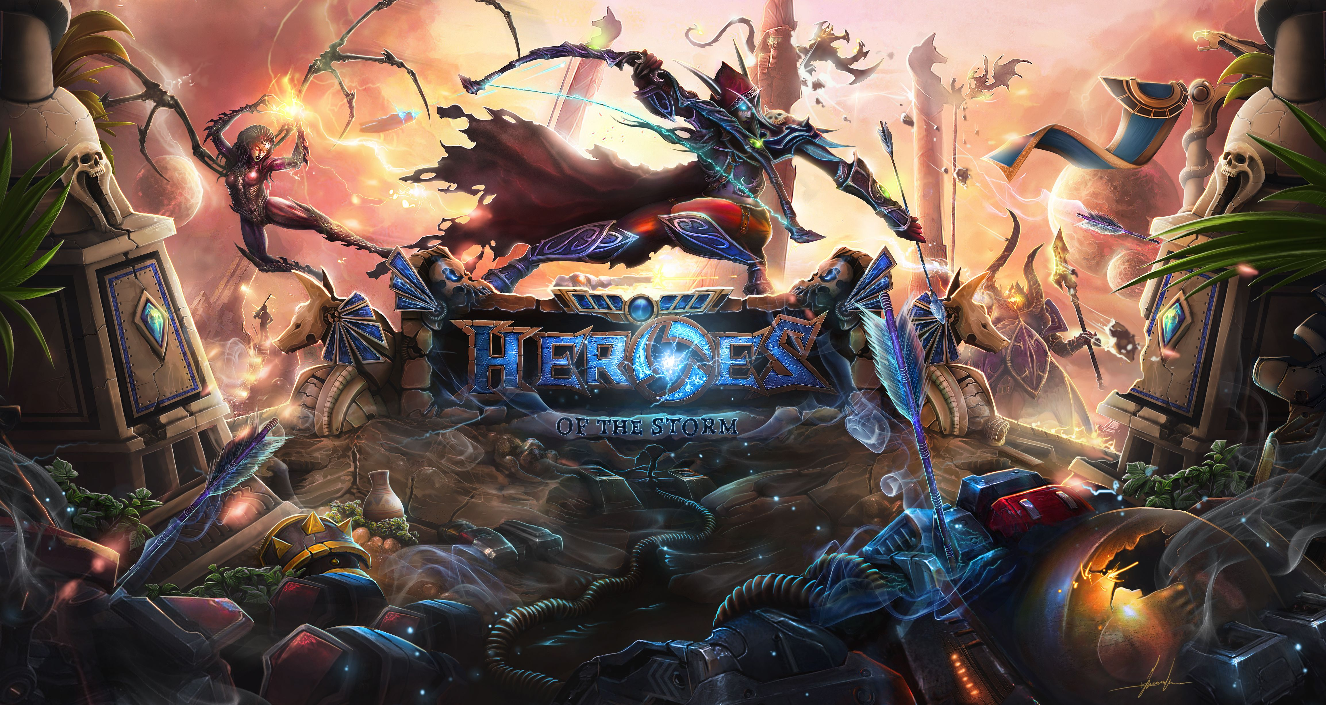 40 Heroes Of The Storm Android Iphone Desktop Hd