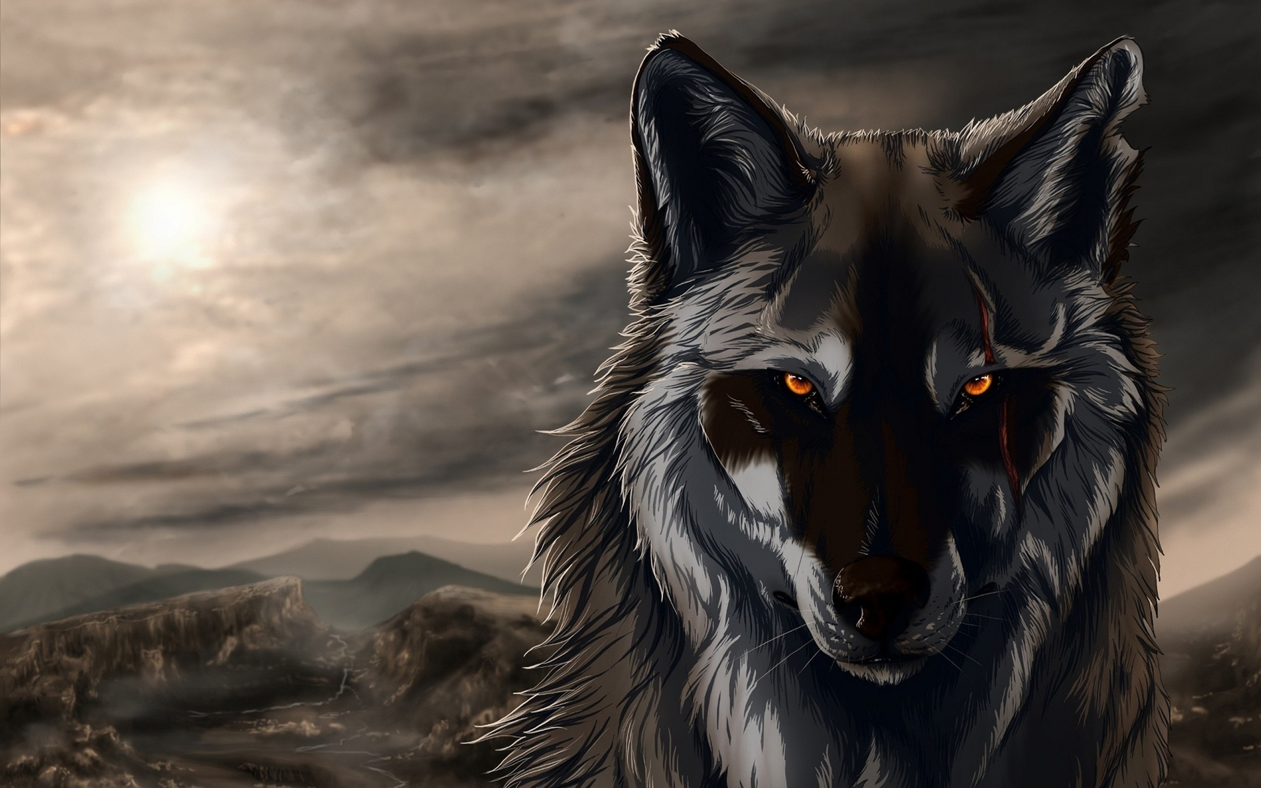 120 Black Wolf Android Iphone Desktop Hd Backgrounds Wallpapers 1080p 4k 2560x1600 2020