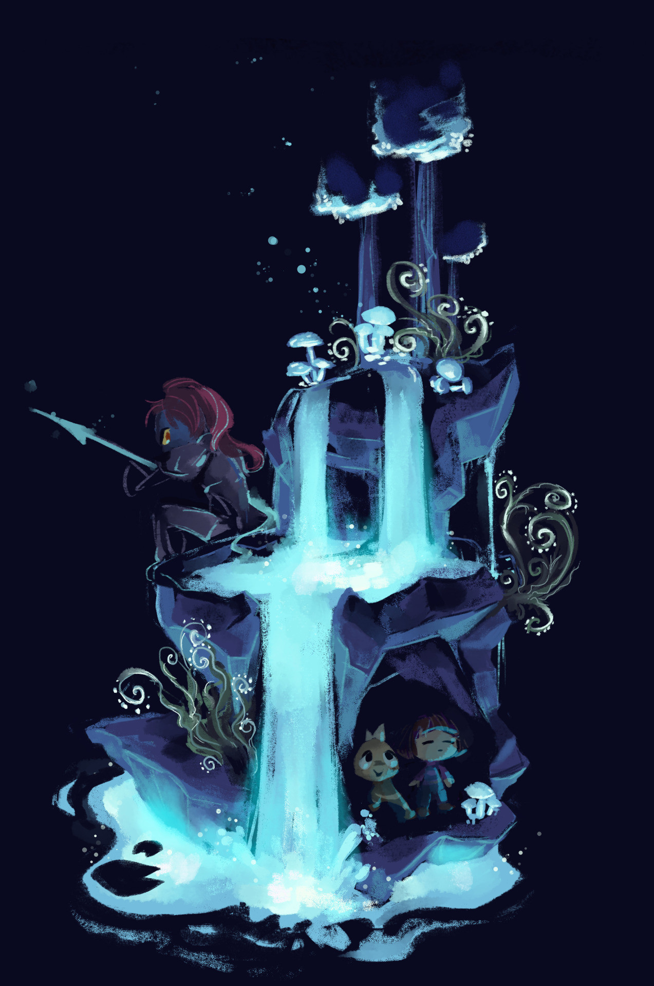 75 Undertale Undyne Android Iphone Desktop Hd Backgrounds Wallpapers 1080p 4k 1273x1920 2020