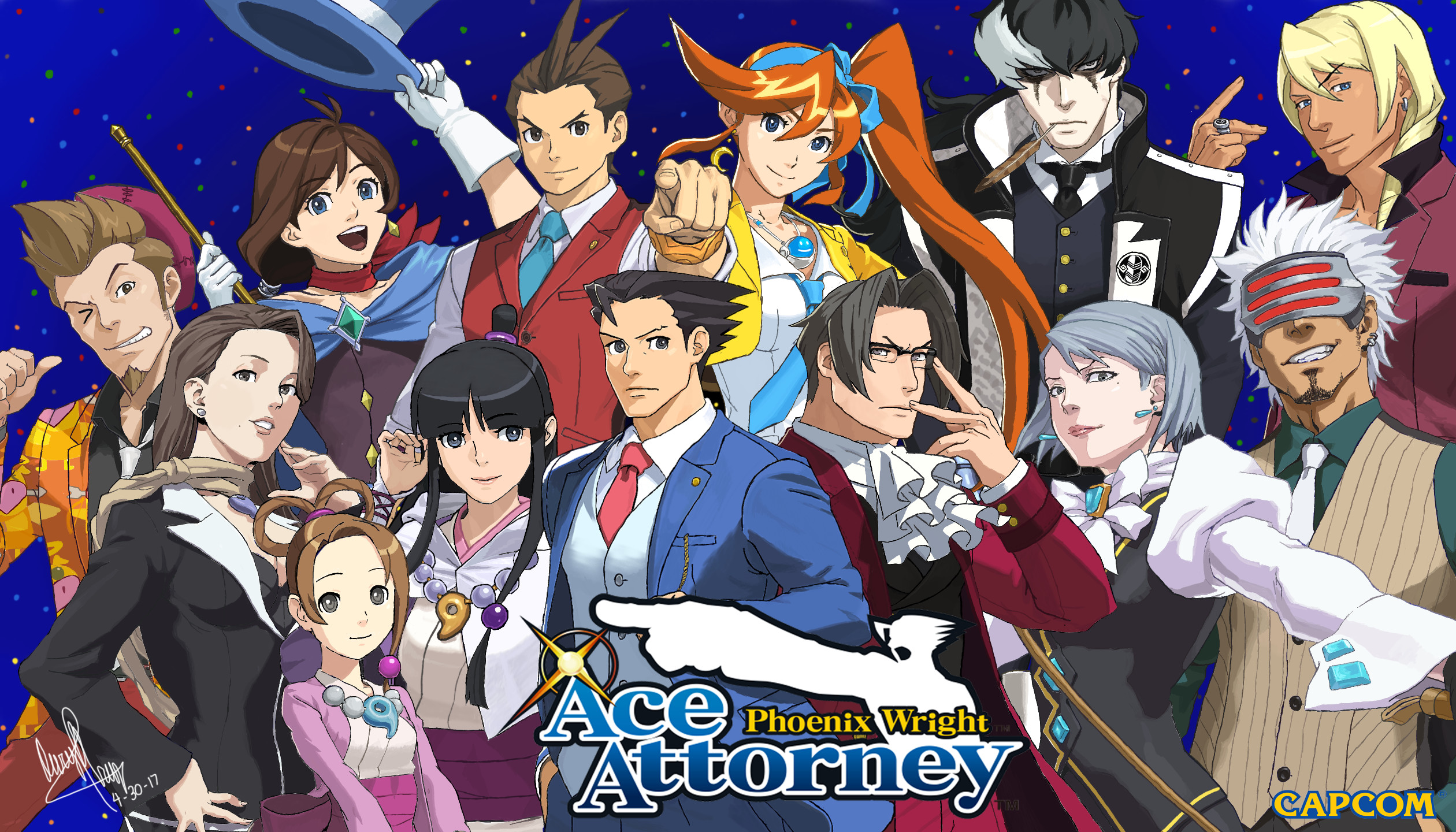 1080p ace attorney wallpaper