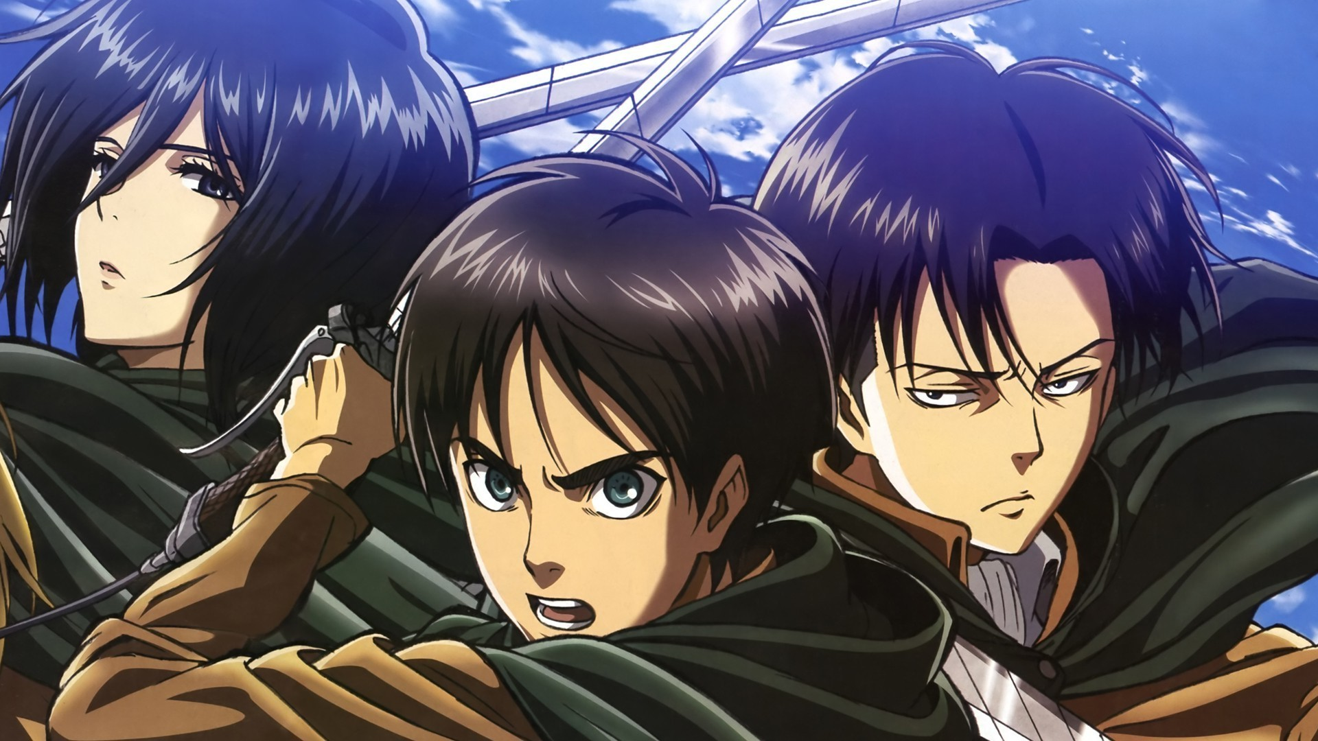 65 Eren And Levi Android Iphone Desktop Hd Backgrounds Wallpapers 1080p 4k 1920x1080 2020