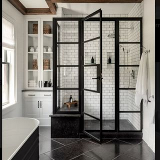 Big Bathroom / Washroom Design / Decoration (#58828)