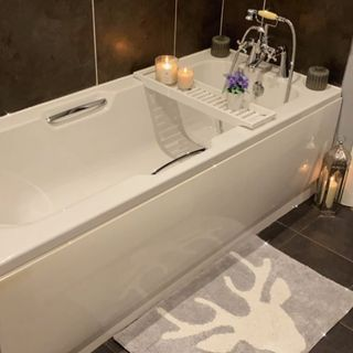 White Bathroom / Washroom Design / Decoration (#118674)