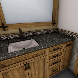 Small Big Bathroom / Washroom Design / Decoration (#79791)