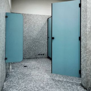 Blue Bathroom / Washroom Design / Decoration (#59210)