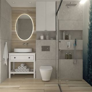 Bathroom / Washroom Design / Decoration (#59374)
