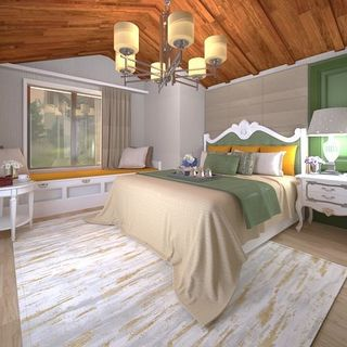 Modern Bed Room Design / Decoration (#98436)