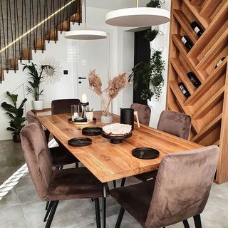Dining Room Design / Decoration (#109278)