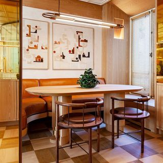 Dining Room Design / Decoration (#113356)
