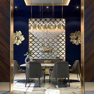 Luxury Dining Room Design / Decoration (#129720)