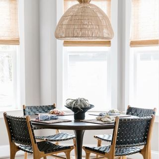 Small Simple Dining Room Design / Decoration (#126521)