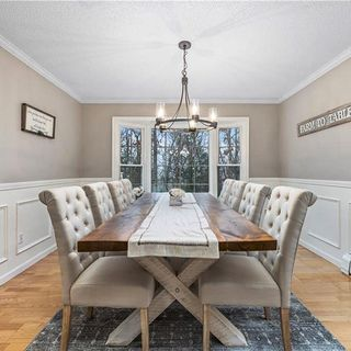 Dining Room Design / Decoration (#123346)