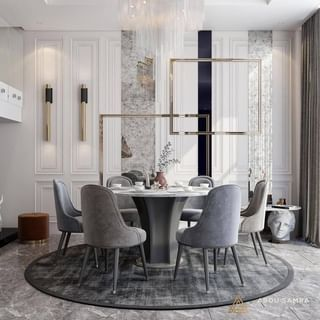 Luxury Dining Room Design / Decoration (#113327)