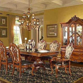 Teal Dining Room Design / Decoration (#126713)