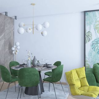 Dining Room Design / Decoration (#61080)