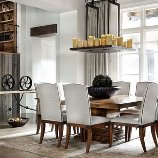 Dining Room Design / Decoration (#61129)