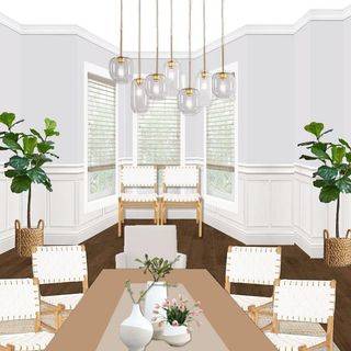 Dining Room Design / Decoration (#116643)