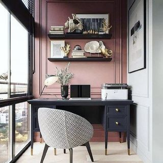 Big Home Office Design / Decoration (#118936)