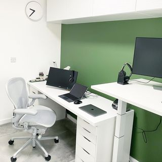 Green Home Office Design / Decoration (#118914)
