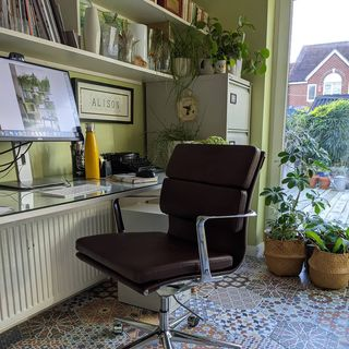 Green Home Office Design / Decoration (#118819)