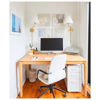 Green Home Office Design / Decoration (#27305)