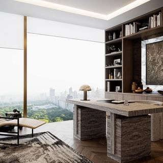 Luxury Home Office Design / Decoration (#112116)