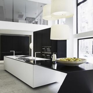 Small Modern Luxury Kitchen Design / Decoration (#64579)