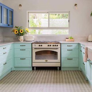 Blue Kitchen Design / Decoration (#64063)