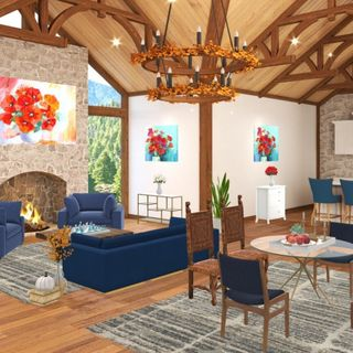 Living Room Design / Decoration (#112949)
