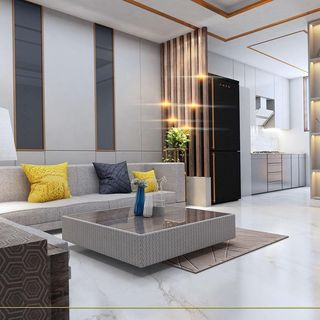 Modern Luxury Indian Living Room Design / Decoration (#113286)