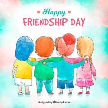 Happy Friendship Day [30th July 2020]  - WhatsApp DP, Facebook Profile & Cover HD Photos