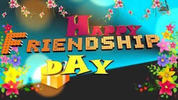 Happy Friendship Day - Colorful, Whatsapp Status