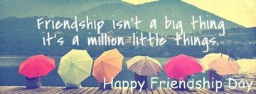 Happy Friendship Day - Colorful, Quote , Whatsapp Status