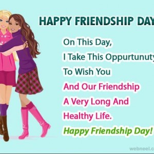 Happy Friendship Day [2018] - WhatsApp DP, Quotes, Messages - #3976