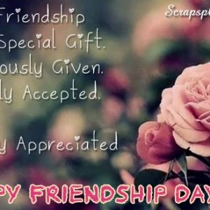 Happy Friendship Day [2018] - WhatsApp DP, Quotes, Messages - #4033