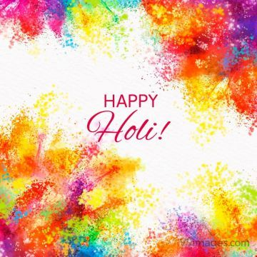[9 March 2020] Happy Holi Colorful Images (gif), WhatsApp Status, Wishes, Quotes, Messages, Gifts