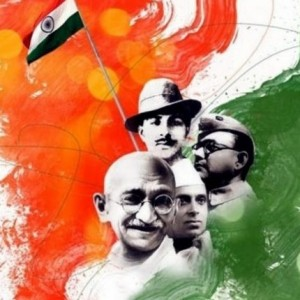 Happy Independence Day, Mahatma Gandhi, Bhagat Singh, Nehru, Nethaji Subash Chandra Bose (india, independence day, independence day 2019, happy independence day)