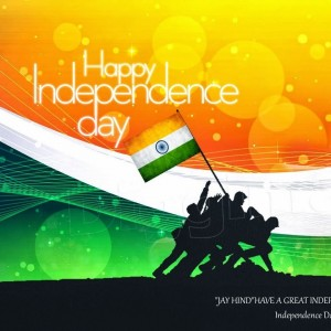Happy Independence Day, Soldiers trying to hoist flag - #9200