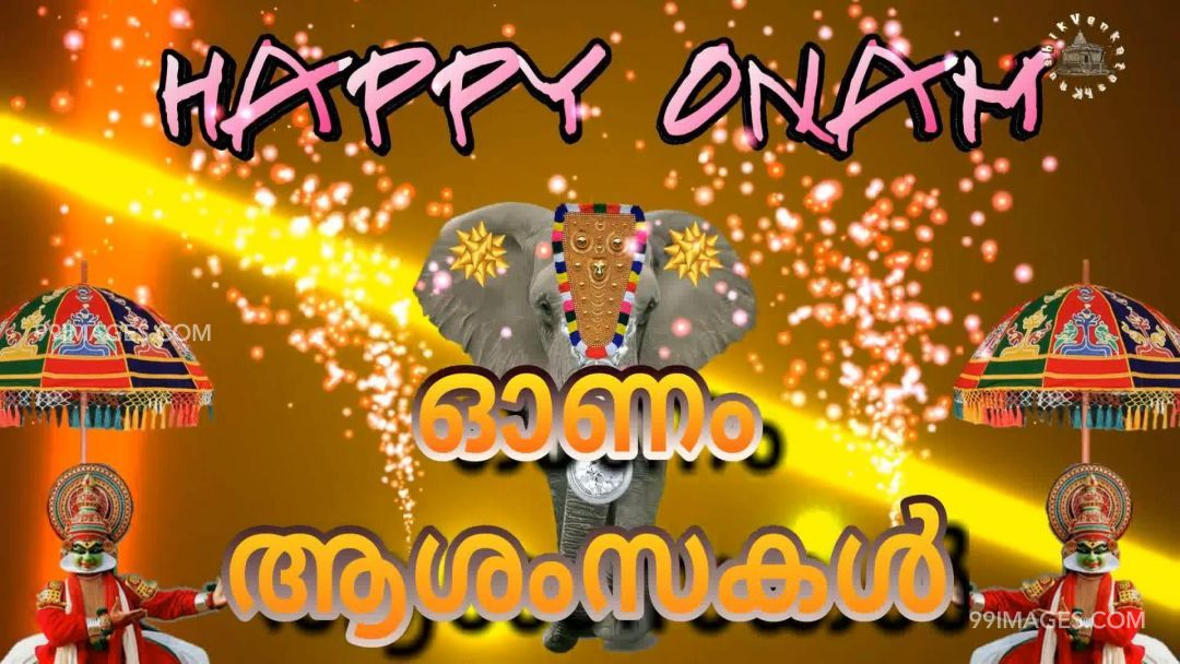 Happy Onam wishes in malayalam (13268) - Onam