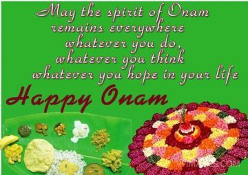 Happy Onam Wishes, Pookolam, Onam Sadhya
