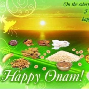 Happy Onam with Onam Sadhya