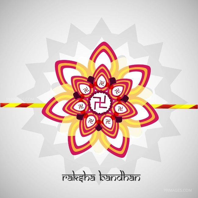🌺 Best Happy Raksha Bandhan [August 15, 2019] - HD Wishes Images for Sisters/Brothers