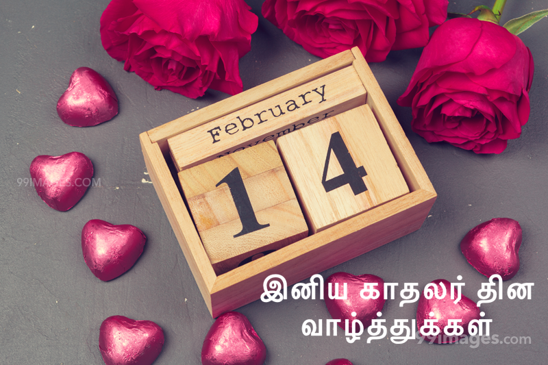 [14 February 2020] Happy Valentines Day in Tamil (kadhalar dhinam vazhthukkal) Romantic Heart Images, Wishes, Love Quotes, Messages (302654) - Valentine's Day