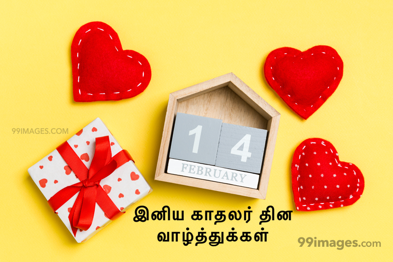 [14 February 2020] Happy Valentines Day in Tamil (kadhalar dhinam vazhthukkal) Romantic Heart Images, Wishes, Love Quotes, Messages (302613) - Valentine's Day