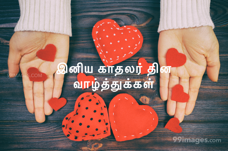 [14 February 2020] Happy Valentines Day in Tamil (kadhalar dhinam vazhthukkal) Romantic Heart Images, Wishes, Love Quotes, Messages (302637) - Valentine's Day
