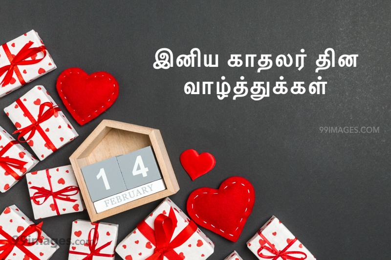 [14 February 2021] Happy Valentines Day in Tamil (kadhalar dhinam vazhthukkal) Romantic Heart Images, Wishes, Love Quotes, Messages (302625) - Valentine's Day