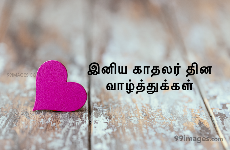 [14 February 2020] Happy Valentines Day in Tamil (kadhalar dhinam vazhthukkal) Romantic Heart Images, Wishes, Love Quotes, Messages (302562) - Valentine's Day